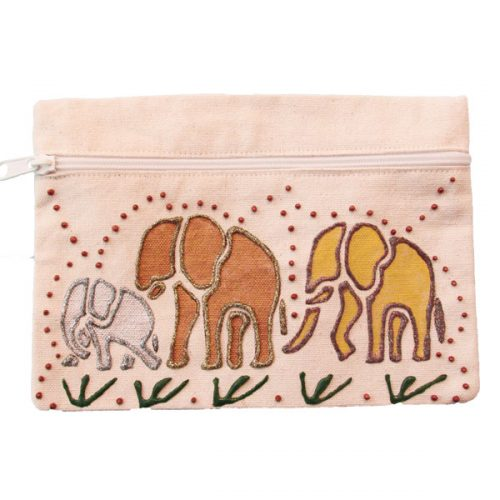 Beige'Bag-elephant