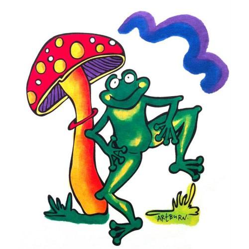 T-shirt-Frog-Dance
