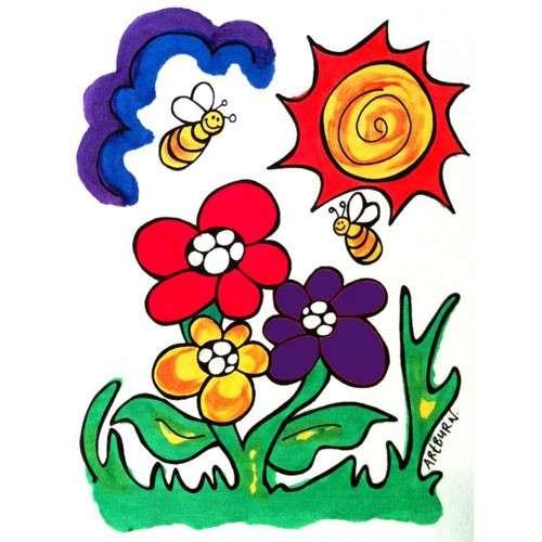 T-shirt Flowers
