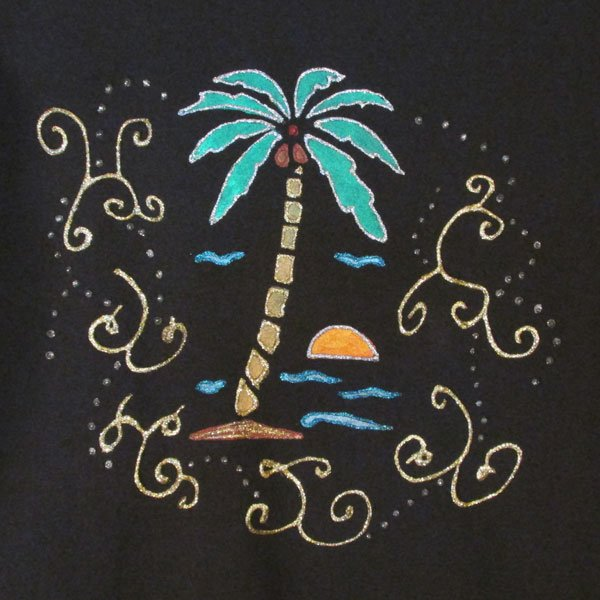 Creative Stenciling - Coconut Tree