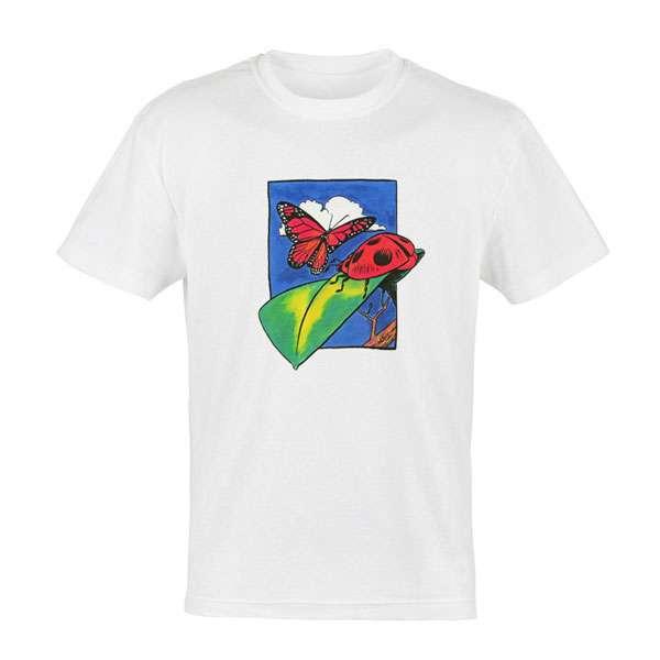 Butterfly Ladybug T-Shirt