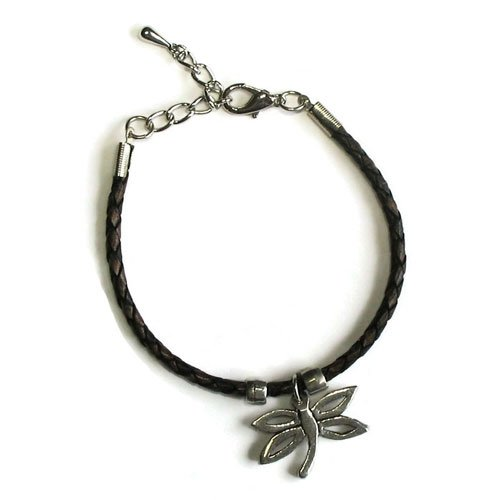 Braided Bracelet Dragonfly