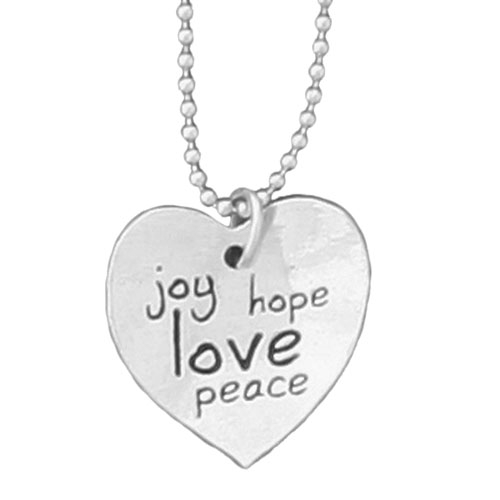 Joy Hope Love Peace