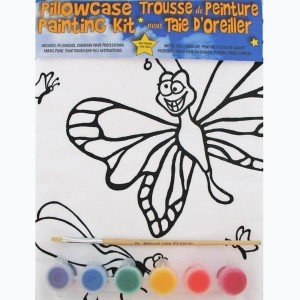 Butterfly Pillowcase Painting Kit