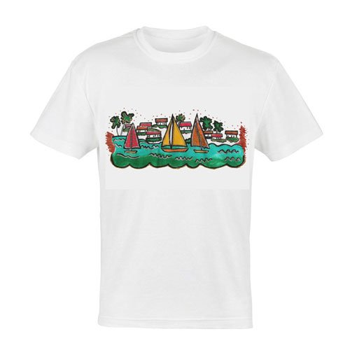 Boats and Houses Kids T-Shirt
