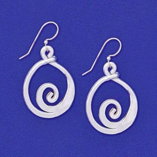 Woodstock Swirl Earrings