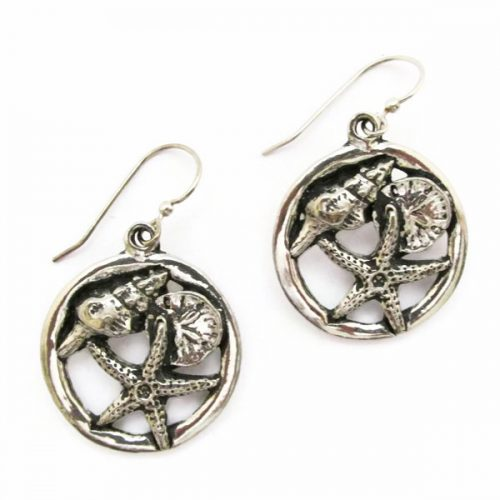 Seashore Hoop Earrings