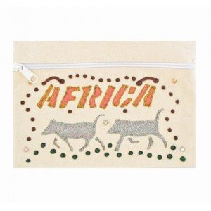 Cosmetic Bags - African Warthogs