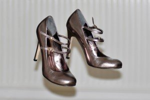 pewter ghost shoes