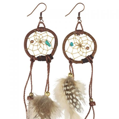 Dreamcatcher Woodland Twig Earrings