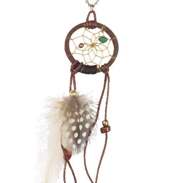 Dream Catcher Twig Pendant