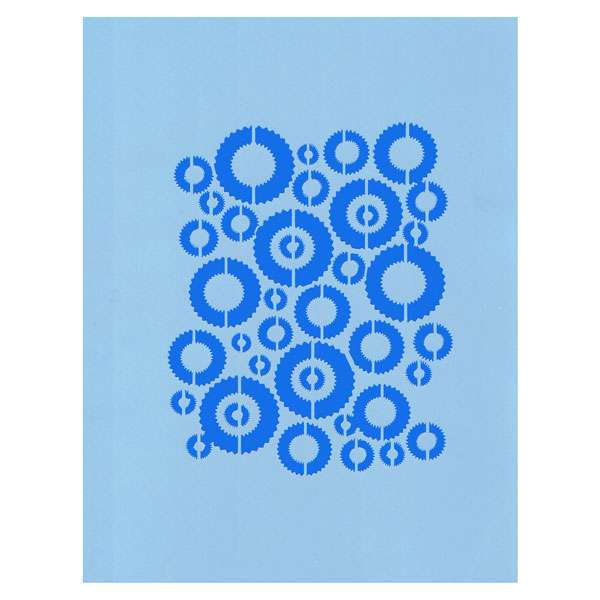 Circles Galore Stencil