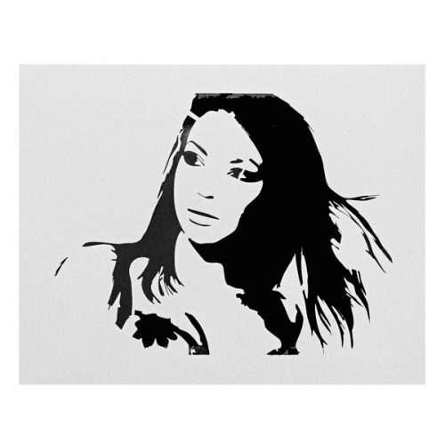 Pretty Woman Stencil
