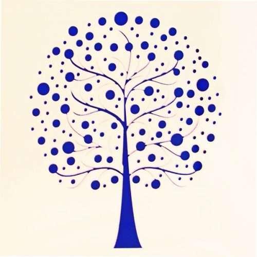 Tree of Life Stencil