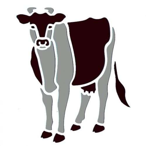 Cow Stencil