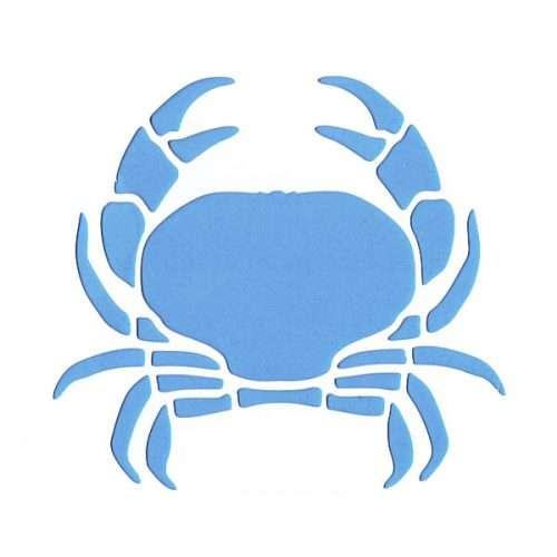 Crab Stencil