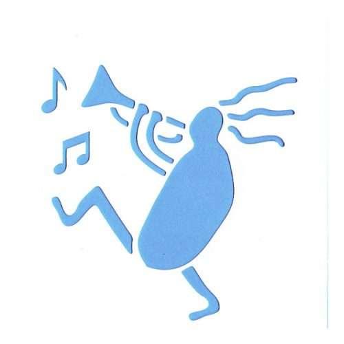 Musician Stencil