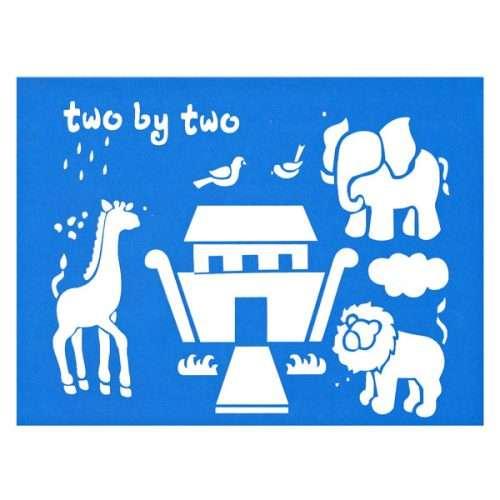 Noah's Ark Stencil