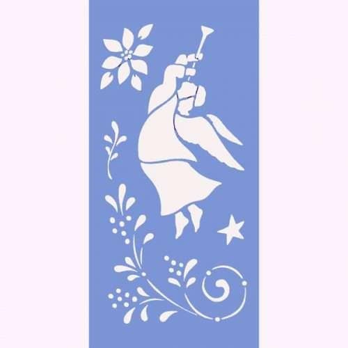 Angels & Trumpets Stencil