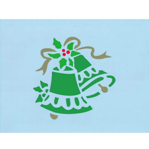 Christmas Bell Stencil