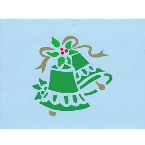 Christmas Bell Stencil