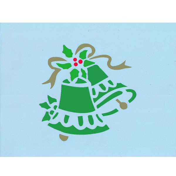 Merry christmas stencil wall stencils craft