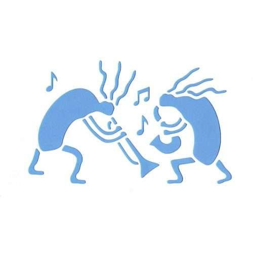 Musicians Stencil
