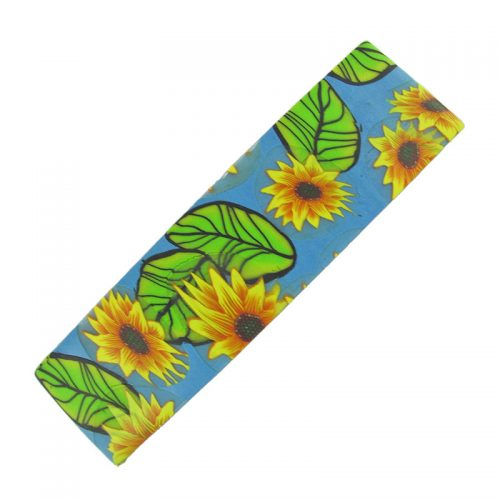 Sunflower Hair Barrette