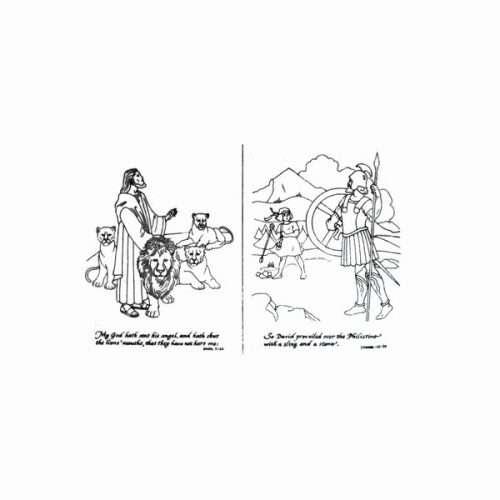Bible Scenes Trichem Vintage Picture