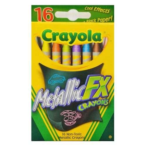Metallic FX Crayons 16