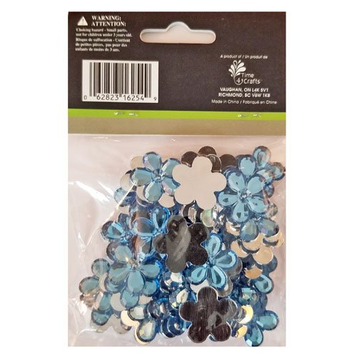 Flower Gemstones Blue