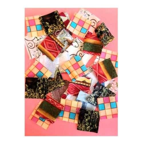 Variety of Fabric Mosaics