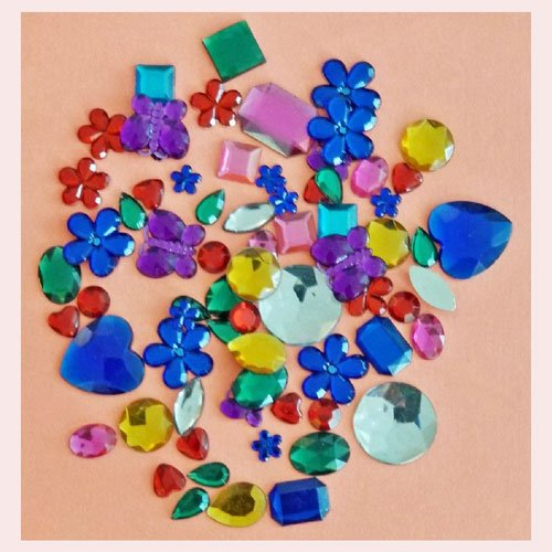 Colourful Rhinestones