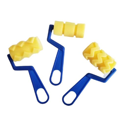 Patterned Sponge Rollers
