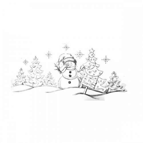 Snowman Transfer Trichem