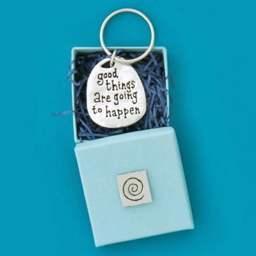 Good Things Are Going to Happen Keychain