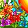 Hummingbird Diamonds Painting Kit