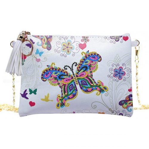 Butterfly Crossbody Bag Design Art Kit Jacarou