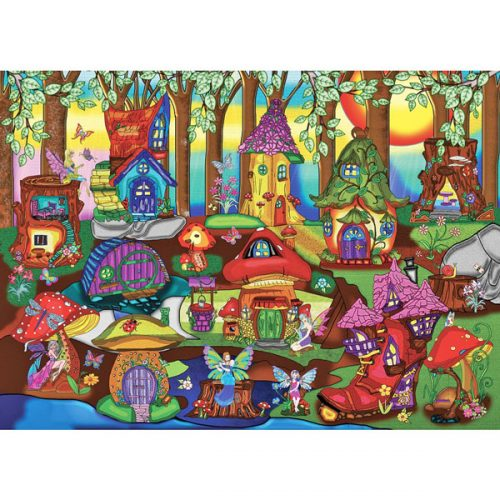 The Enchanted Forest Jacarou Jigsaw Puzzle