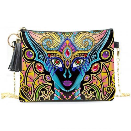 Goddess Crossbody Bag Design Diamonds Art
