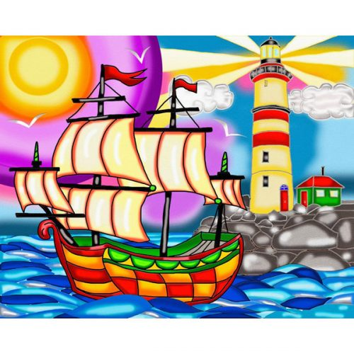 Lighthouse Diamonds Painting Kit Jacarou