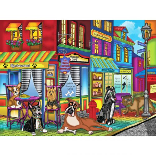 New Dogs on the Block Jigsaw Puzzle