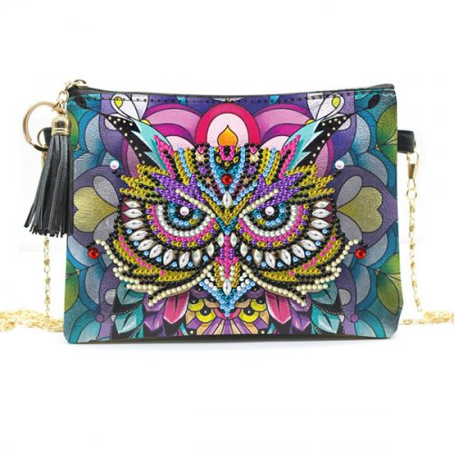Owl Crossbody Bag Design Art Kit