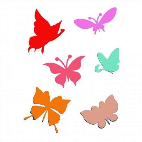 Pretty Butterflies Stencil